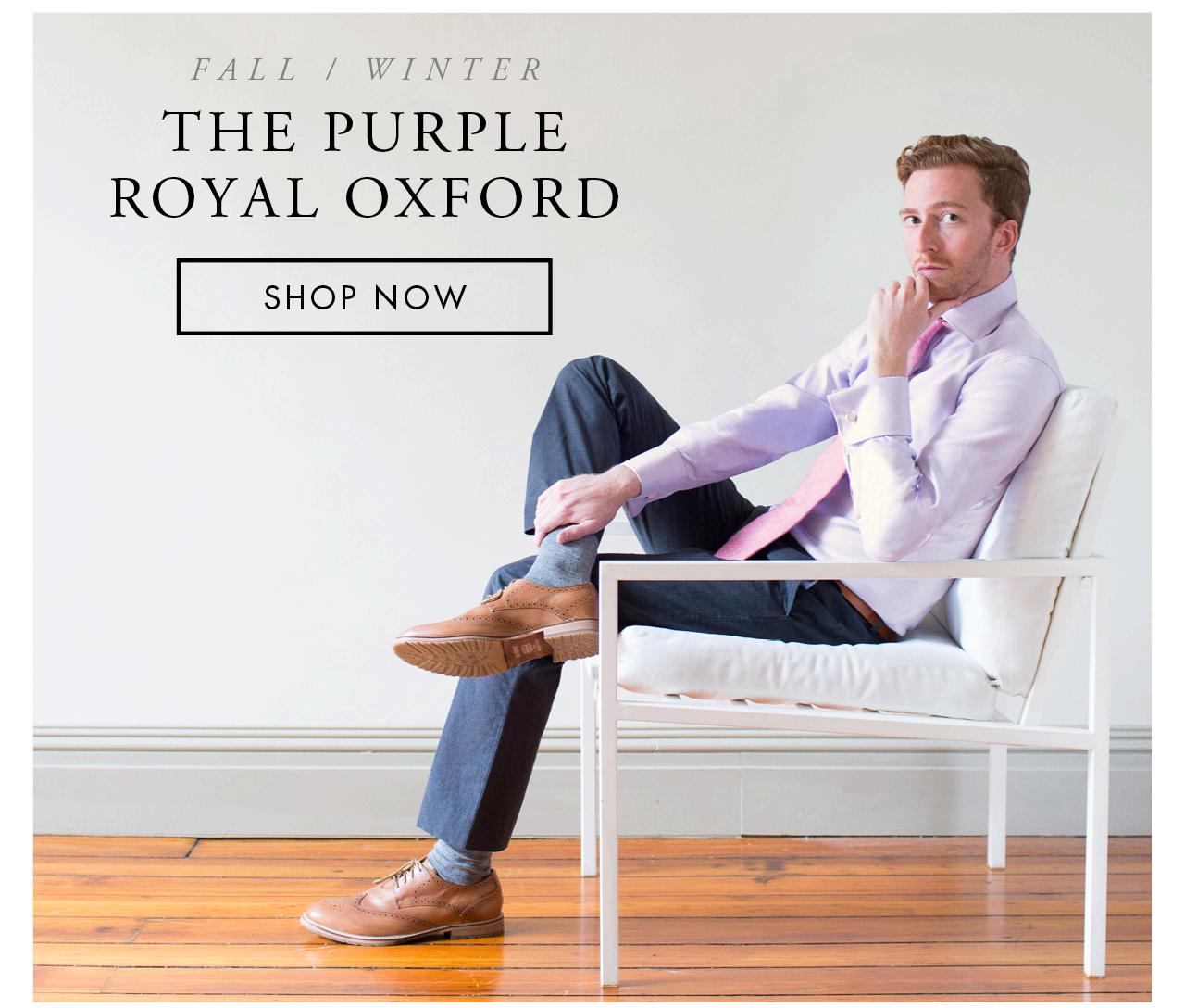 The Purple Royal Oxford