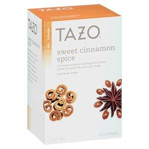 Perfect for FALL - Tazo sweet cinnamon spice