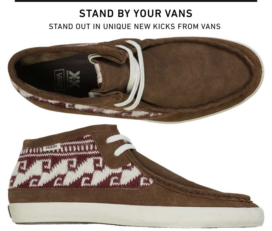 Shop New Unique Kicks from Vans