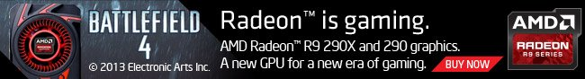 battlefield 4 © 2013 electronic arts inc. radeon is gaming. amd radeon r9 290x and 290 graphics. a new gpu for a new era of gaming. buy now.