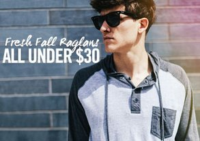 Shop Fresh Fall Raglans: ALL Under $30