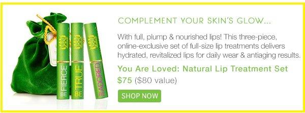 Complement your skin's glow - Shop Lip Treatment Trio