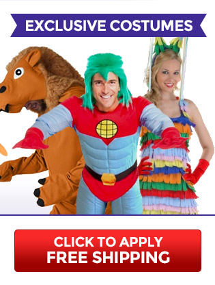 Free Shipping on Exclusive Costumes