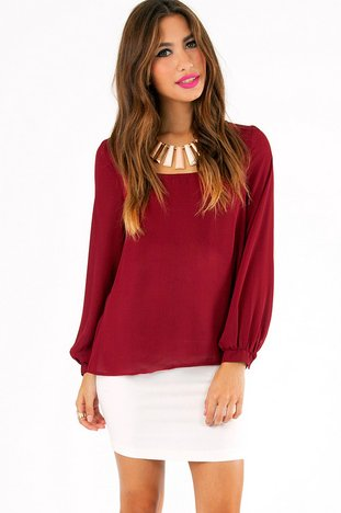 WHAT A ZIP BLOUSE 29
