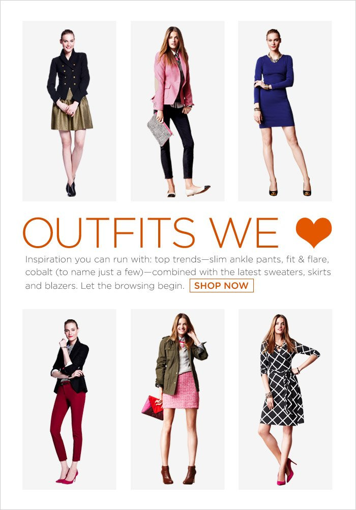 Outfits we ♥ | SHOP NOW