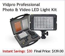 Vidpro LED Light Kit