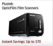 Plustek OpticFilm Film Scanners