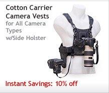 Cotton Carrier Camera Vest