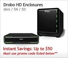 Drobo HD Enclosures