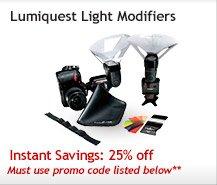 Lumiquest Light Modifiers