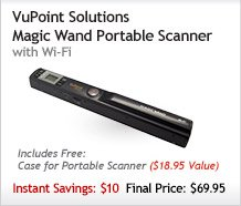 VuPoint Solutions Scanner