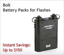 Bolt Battery Packs