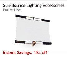 Sun-Bounce Lighting Accessories