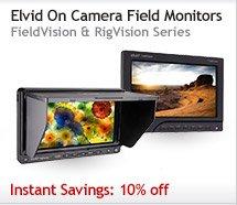 Elvid On Camera Field Monitors