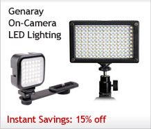 Genaray On-Camera LED Lighting