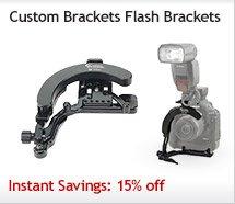 Custom Brackets Flash Brackets