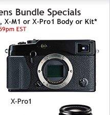 Fujifilm X-Pro1 Bundle