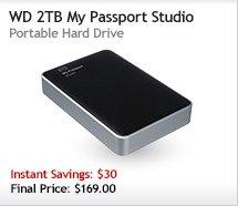 WD 2TB My Passport Studio