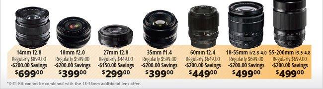 Fujifilm Mirrorless Camara and Lens Bundle