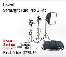Lowel SlimLight Rifa Pro 2 Kit