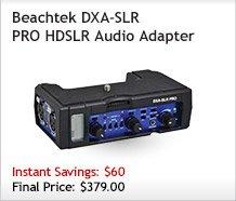 Beachtek DXA-SLR PRO
