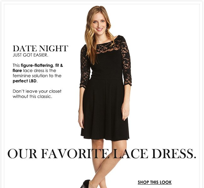 Our Favorite Lace Dress - Shop the Look