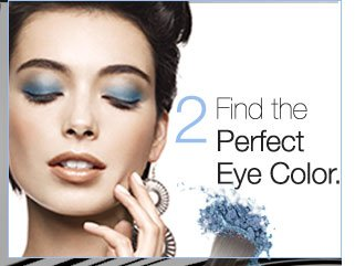 2. Find the Perfect Eye Color.