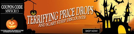 10% off for Scary-low prices! Details inside…