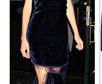 Dress, £1,205 Christopher Kane