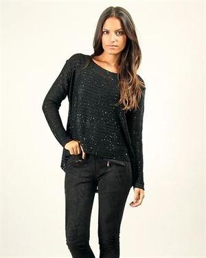 Pineapple Overlay Sweater