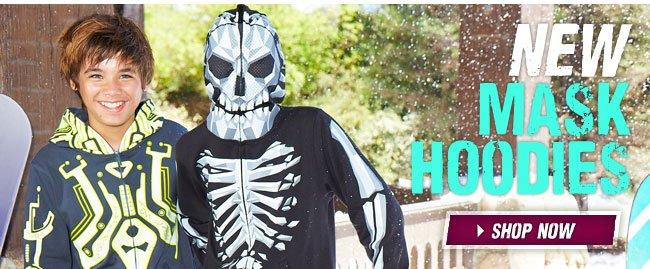 New mask hoodies