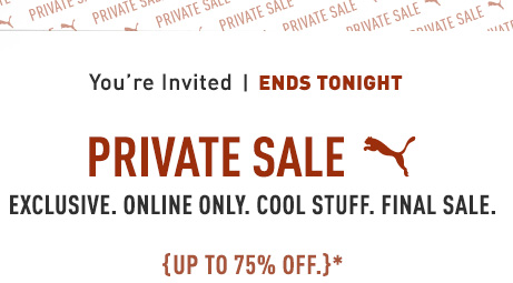 You're Invited OCTOBER 23RD & 24TH PRIVATE SALE EXCLUSIVE. ONLINE ONLY. COOL STUFF. FINAL SALE.