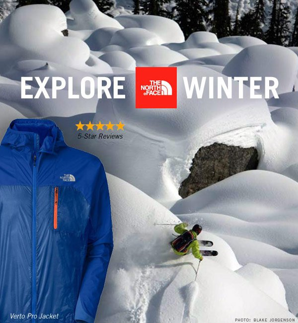 Explore The North Face this Winter. 5-star rated Gear, Clothing and Footwear.