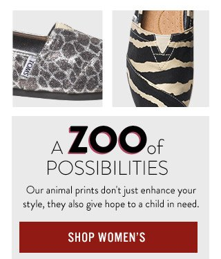 A Zoo of possibilities - Shop Women's