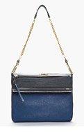 CHLOE Navy blue medium Vanessa bag for women
