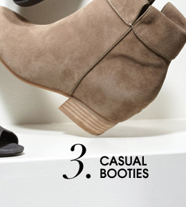 3. CASUAL BOOTIES