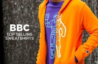 BBC: Top Selling Sweatshirts