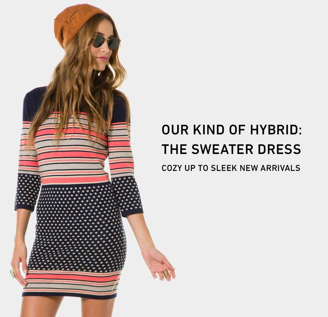 Shop New Sweater Dresses