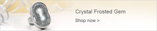 Crystal Frosted Gem