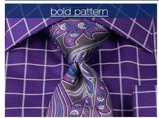 Bold Pattern Dress Shirts