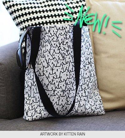 Artwork by Kitten Rain - Browse Tote Bags