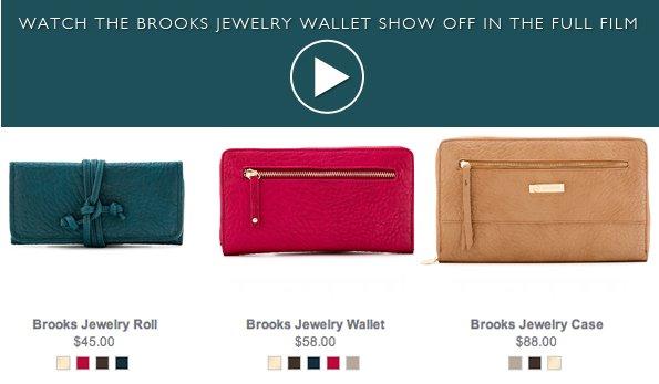 Brooks Jewelry Wallet