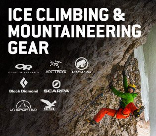 Ice Climbing Gear From Top Brands