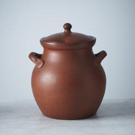 Clay Bean Pot