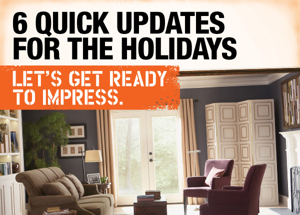 6 Quick Updates for the Holidays