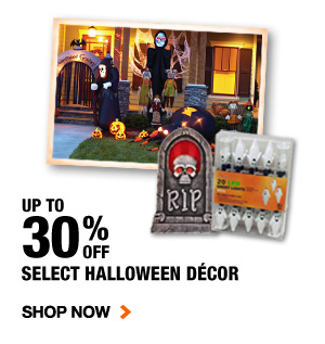 Up to 30% OFF Select Halloween Décor