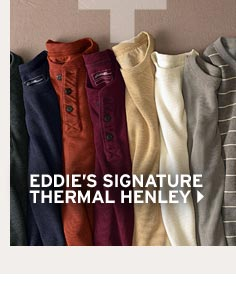 Shop Eddie's Signature Thermal Henley