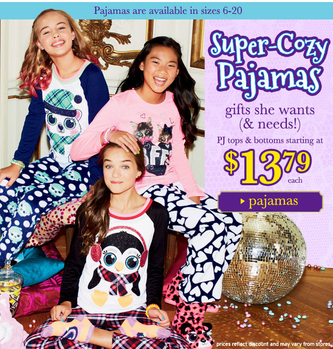 Super-cozy pajamas