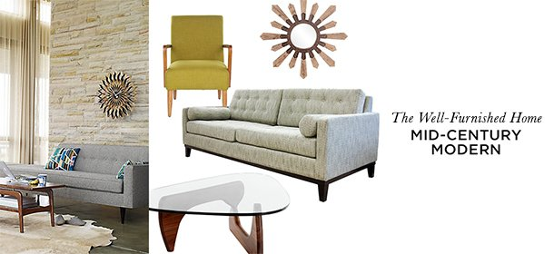 The Well-Furnished Home: Mid-Century Modern