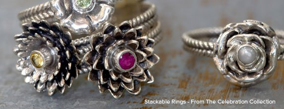 Stackable Rings - From The Celebration Collection